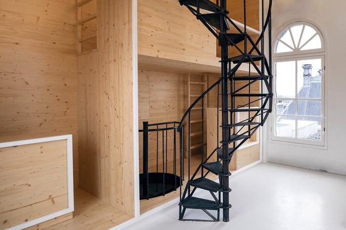 Оригинальная перепланировка башни в Амстердаме.
