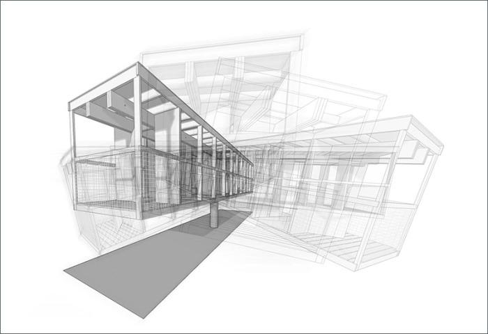 Траектория движения дома ReActor.