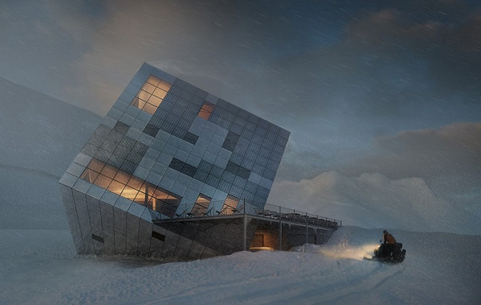 Проект архитектурной компании Atelier 8000.