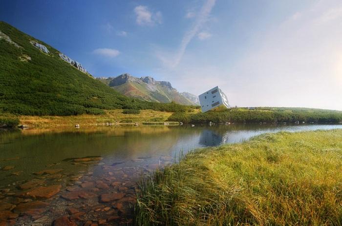 На горном хребте Словакии построят оригинальный отель.