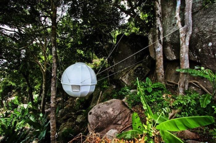 Cocoon Tree Tent - палатка для релакса.