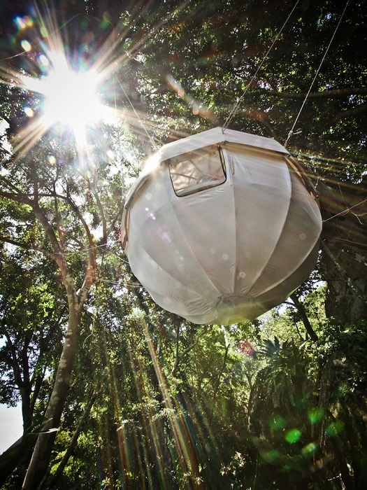 Cocoon Tree Tent - подвесная палатка-шар.
