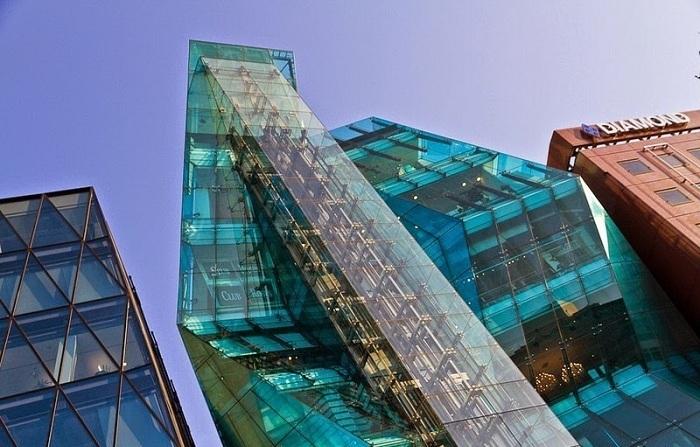 Архитекторский проект фирмы Creative Designers International.