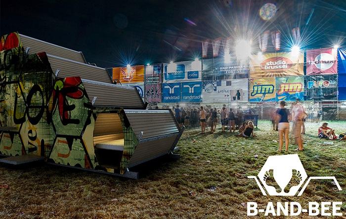 B-and-Bee. Контейнеры могут быть разрисованы по тематике фестиваля.
