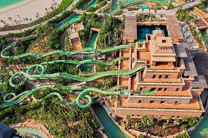 Master Blaster Water Coasters, Дубай.