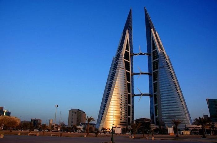 The Bahrain World Trade Center - нестандартный торговый центр, расположенный в Бахрейне.