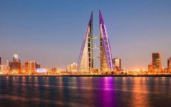 The Bahrain World Trade Center - удивительное здание в Манаме (Бахрейн).
