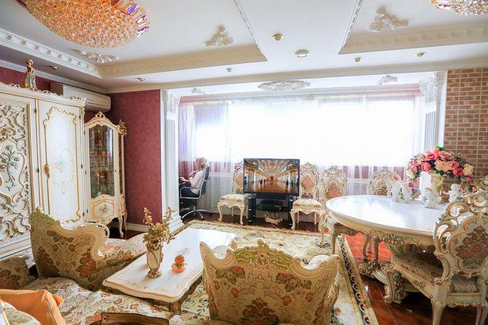 Гостиная в стиле барокко.