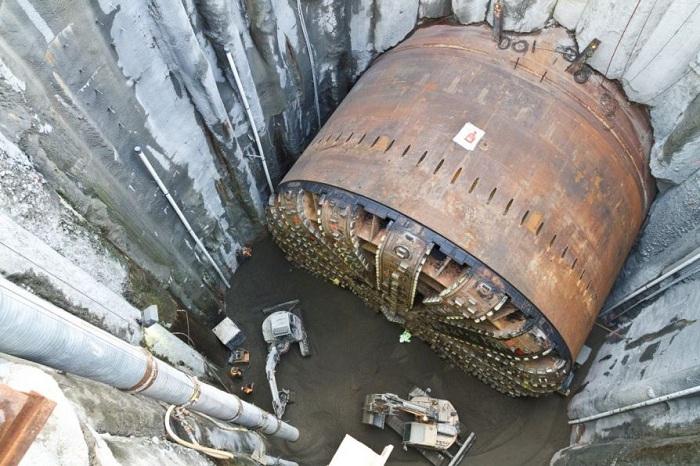 Самая большая в мире подземная машина.