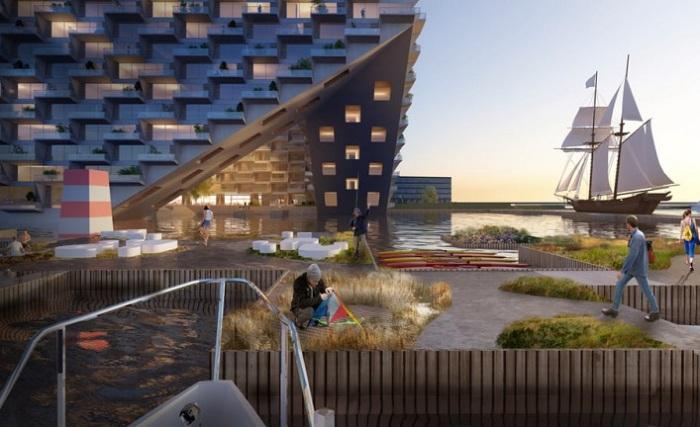 Архитекторский проект голландской фирмы Bjarke Ingels Group (BIG).