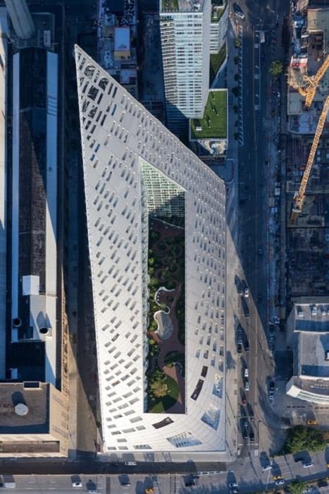 Жилой комплекс на Манхэттене.