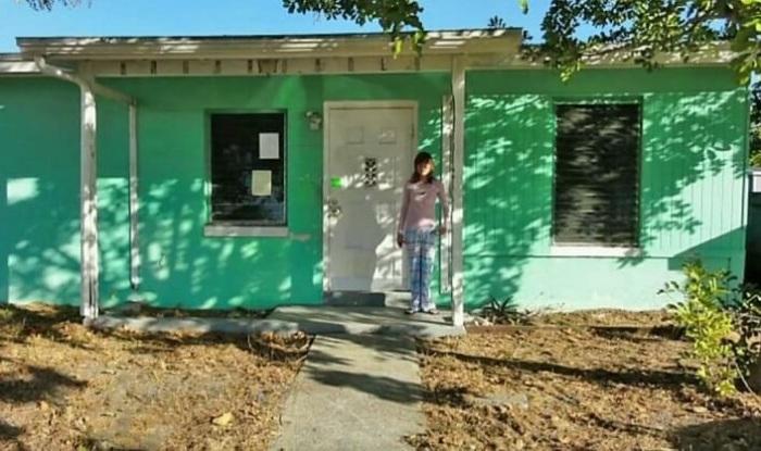 14-летняя девочка купила собственный дом.