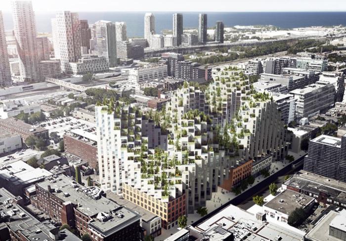Будущий жилой комплекс на улице King Street West (Торонто, Канада.)