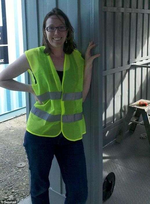 Дизайнер Бренда Келли, превратившая контейнер в уютный дом.
