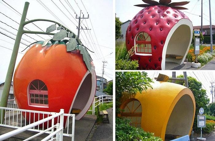 «Ягодные» остановки. Япония