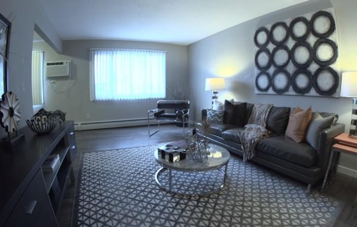 Обновленная квартира после ремонта, который длился один час.