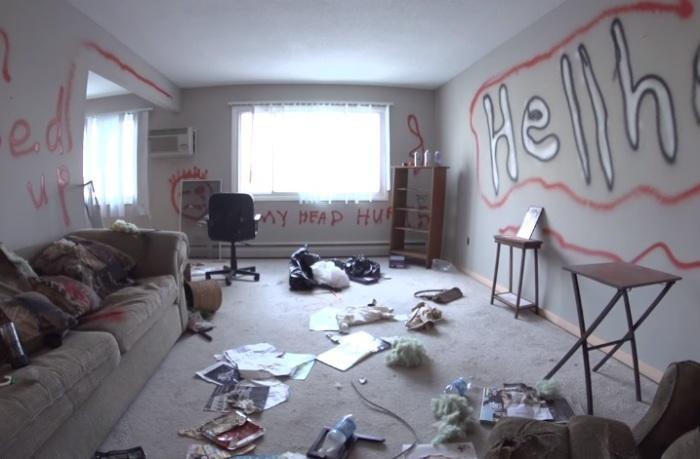 Так квартира выглядела до ремонта.