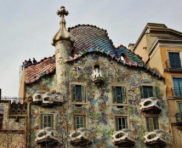 Casa Batllo.