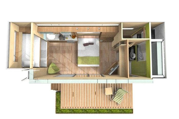 Проект дома от фирмы Cubica.