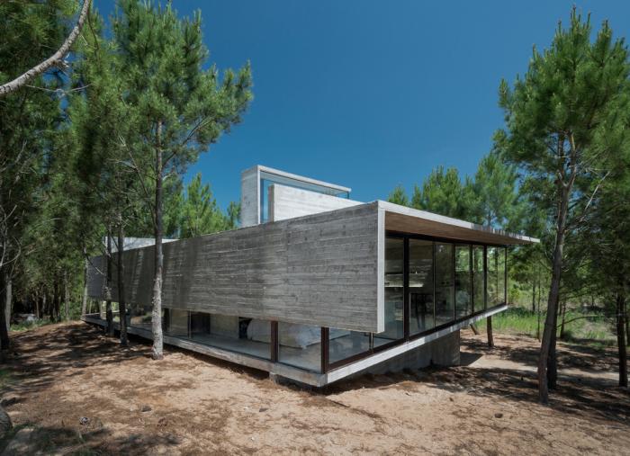 Casa L4 - загородный дом в Аргентине.