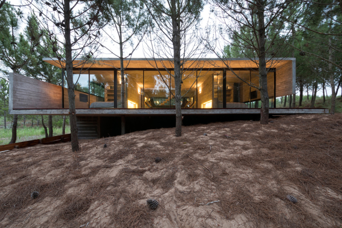 Архитекторский проект Luciano Kruk и Ekaterina Kunzel.