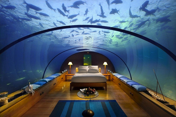 Отель Poseidon Undersea Resort.