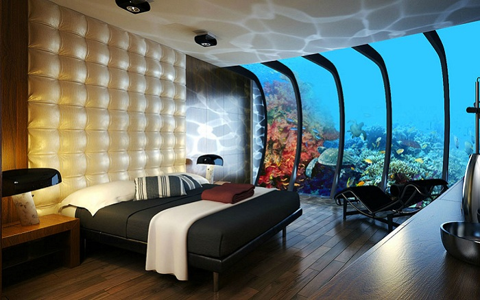 Отель под водой (Остров Фиджи).