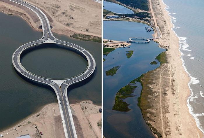 Круговой мост как метафора «лагуны» в лагуне.