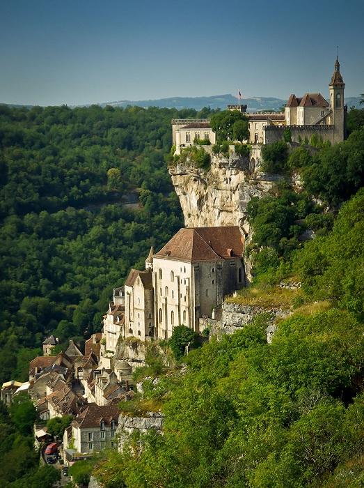 Rocamadour - деревня на скалах.