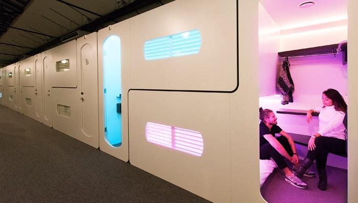 Cityhub - отель с цифровым управлением.