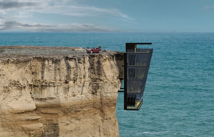 Cliff House - дом над пропастью.