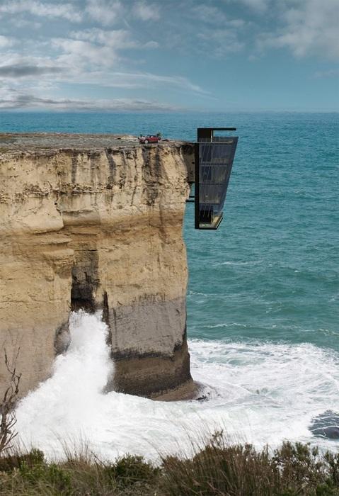 Концепт загородного дома Cliff House от австралийских дизайнеров.