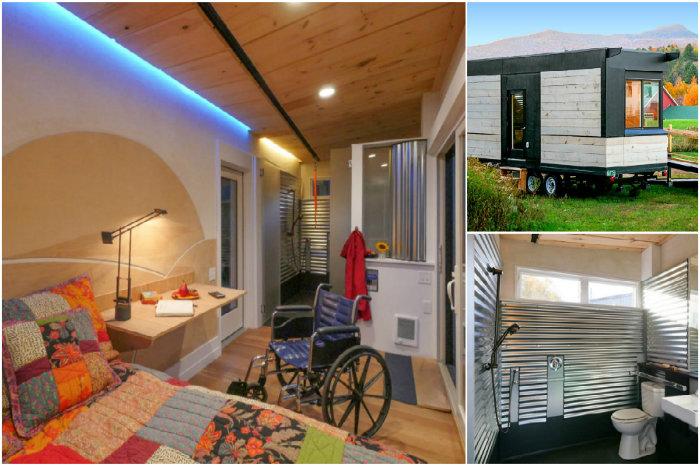 The Wheel Pad - мобильный дом для людей с ограниченными возможностями.