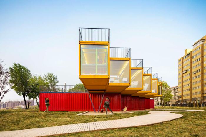 Проект архитектурной фирмы People's Architecture Office (PAO).