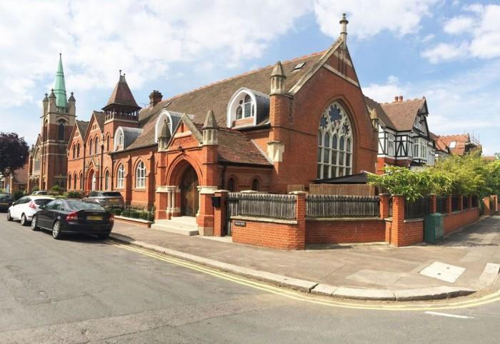 Пентхаус в Лондоне, переделанный из церкви.