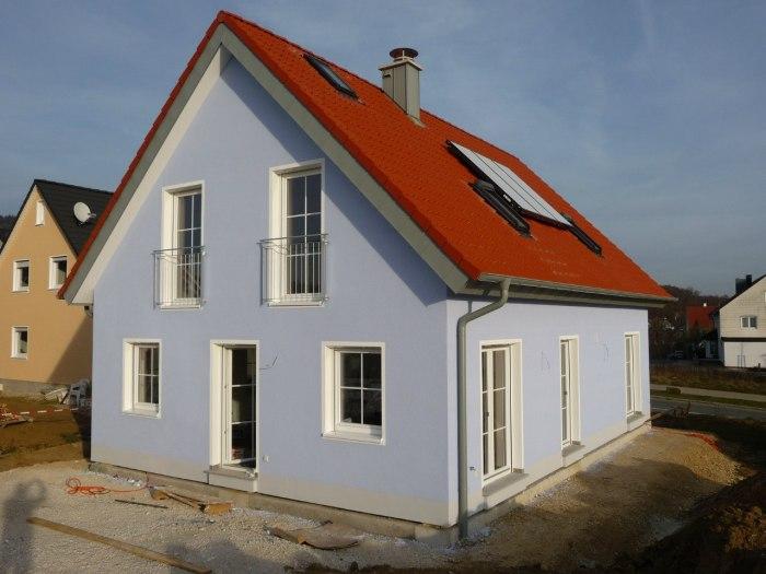 Дом, построенный немецкой компанией Dennert.
