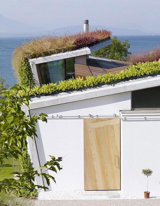 Jewel Box Villa - дом с геометрическими формами.