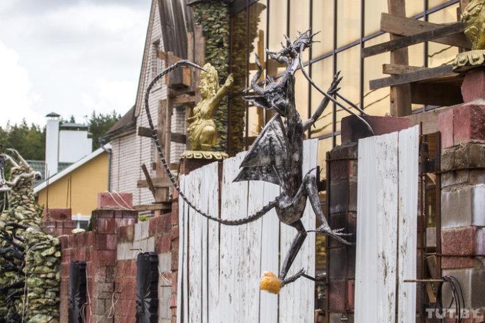 Страшный дом в Ратомке.