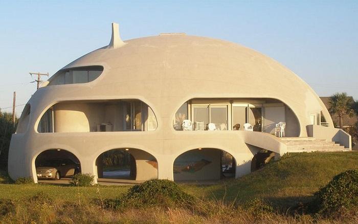Купольный дом.