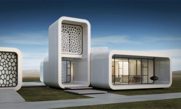 В Дубае напечатают здание на 3D-принтере.