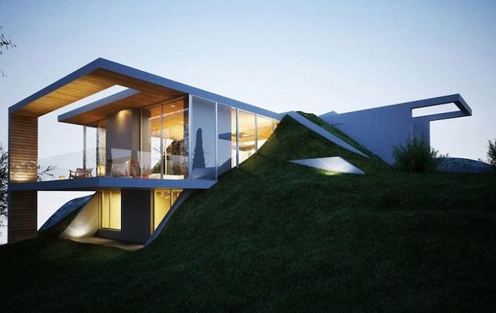 Проект архитектурной фирмы Molos Group.