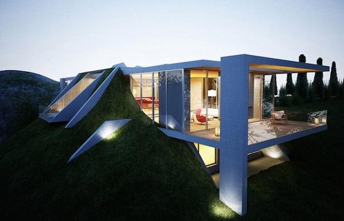 Проект «Земляного дома», расположенного в Албании.