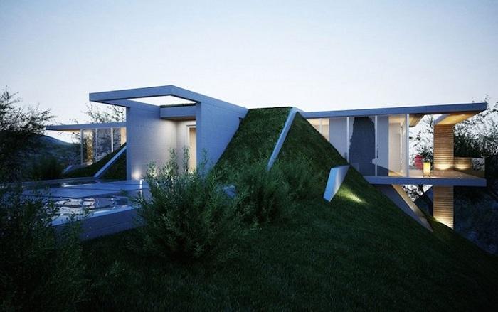 Проект современного особняка в Албании.