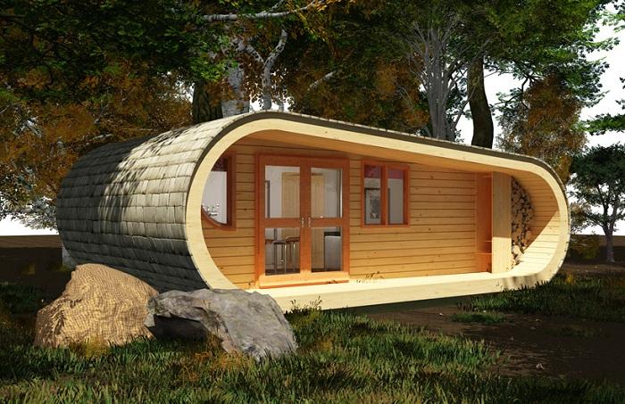 Eco Perch. Дом площадью 40 кв. метров.