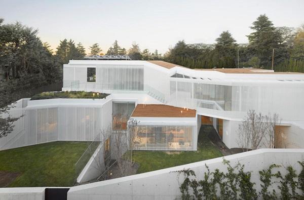 Проект архитектурной фирмы из Мадрида #house#1.130.