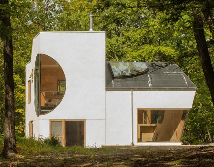 Exploration of «IN» - дом с оригинальными формами.