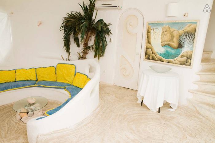 «Casa Caracol». Интерьер.