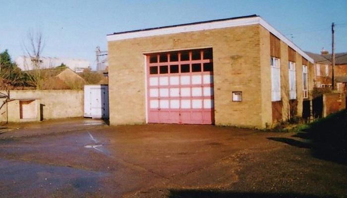Старая пожарная станция в графстве Линкольншир.