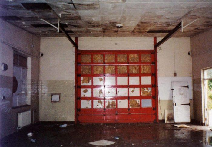 В таком состоянии здание было до ремонта.