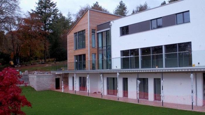 Сборный дом, изготовленный немецкой фирмой FLAT PACK.